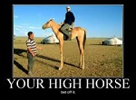 high horse small