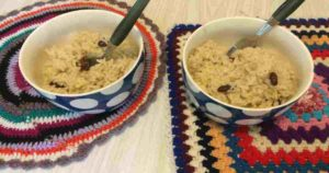 Eating refugee rations