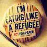 Eating like a refugee