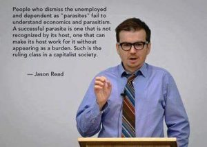 Unemployed are not parasites