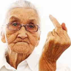 Giving the finger to aged care
