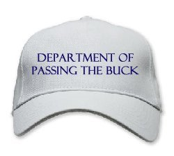 Buck pass I'm moral