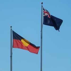 26 January when one flag flies higher